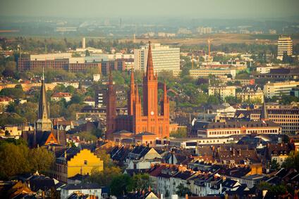 Luftaufnahme Wiesbaden